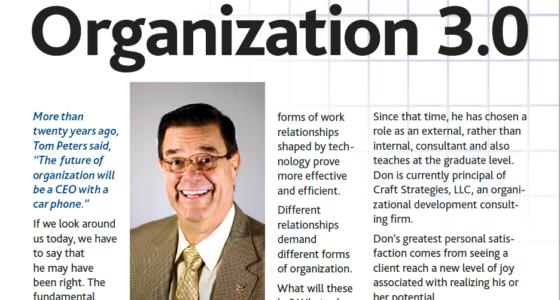 Organization 3.0